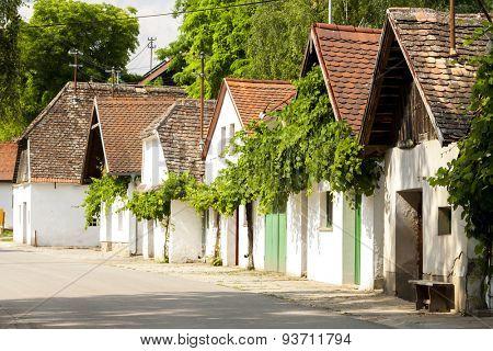 wine cellars, Hadres, Lower Austria, Austria