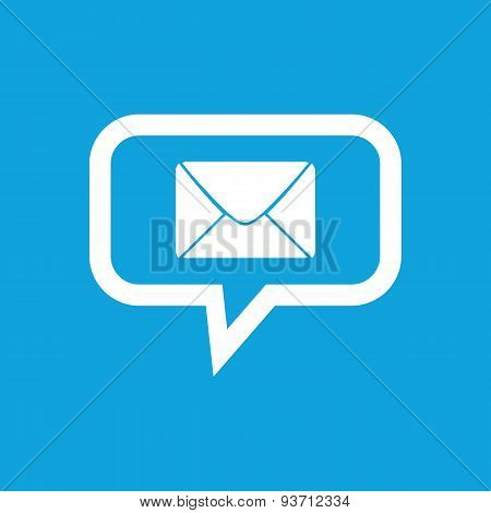 Letter message icon