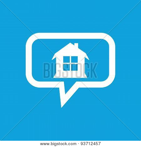 House message icon
