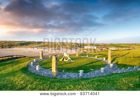 Perranporth Sundial