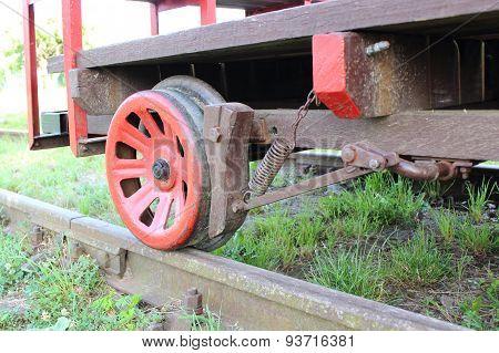 Part Of Railway Pump Trolley