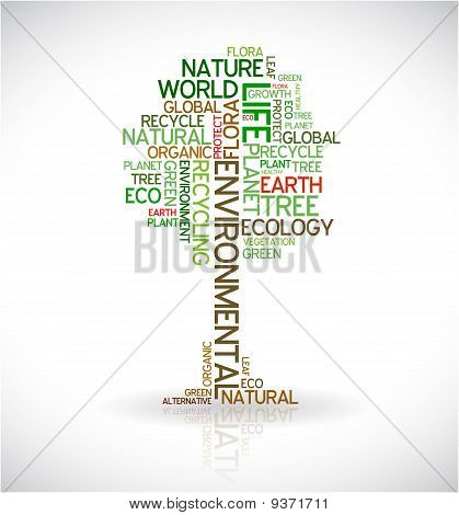 Abstract Ecology Poster - Tree