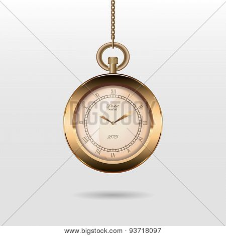 Hanging pocket watch