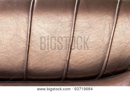 Abstract Texture Leather Upholstery Magnificent Couch. Great Background Or Texture.