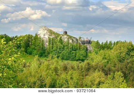 Highland landscape.