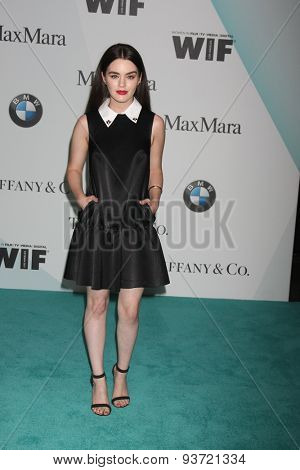 LOS ANGELES - JUN 16:  Dana Melanie at the Women In Film 2015 Crystal + Lucy Awards at the Century Plaza Hotel on June 16, 2015 in Century City, CA