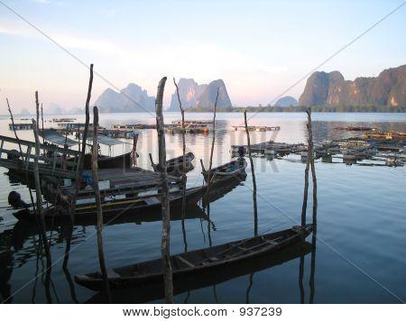 Fishing Village Thailand
