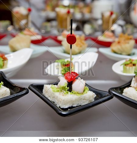 Delicious Appetizer And Finger Foods