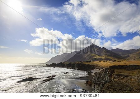 Southern coast of Iceland and Northern Atlantic