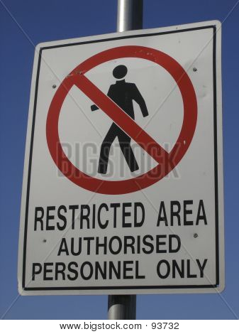 Personal autorizado solamente