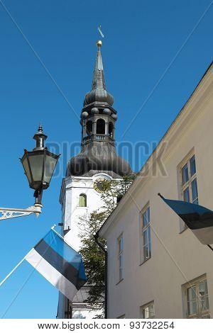Landmark In Tallinn.