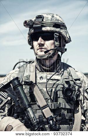 United States paratrooper