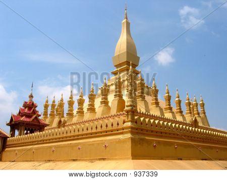 Golden Temple Laos