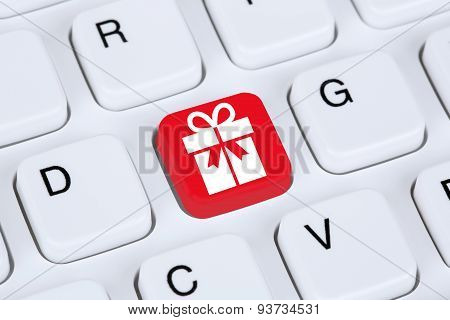 Gifts Online Shopping Ordering Internet Shop Concept