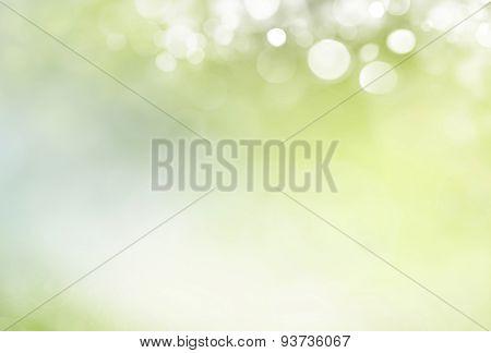 Spring background  de-focus