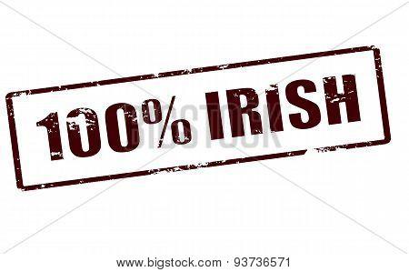 One Hundred Percent Irish