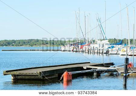 Marina And Bridge