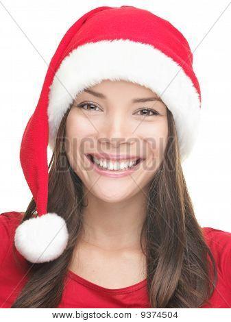 Christmas Girl Smiling