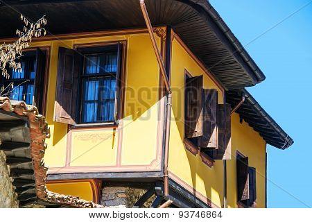 Old Bulgarian House In Ethnographic Village Koprivshtitsa