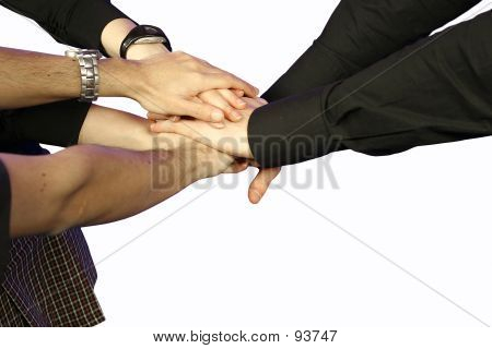 Business TeamWork - Hands