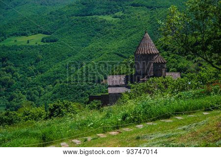 Ancient monastery Tatev, Armenia,