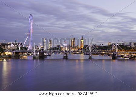 London In Blue