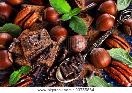Chocolate, Nuts And Mint