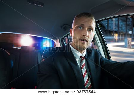 Scared Man Pulled Over By Police