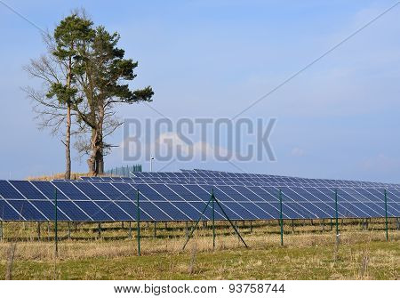 Production Of Electricity By Photovoltaic Panels