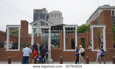 The Liberty Bell Center in Philadelphia