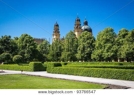 Munich Hofgarten