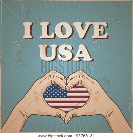 i love usa design
