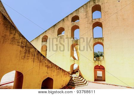 Jantar Mantar Observatory In Jaipur, India