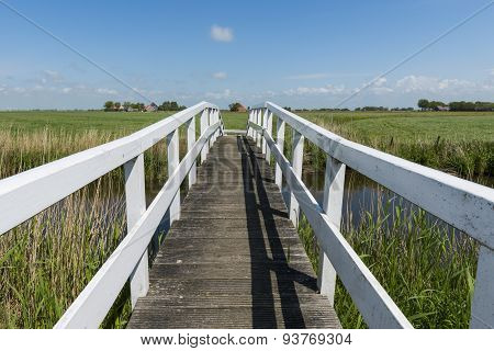 Bridge At Workum Friesland