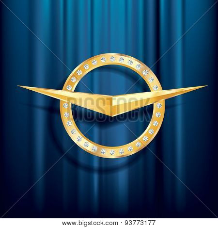 abstract luxury vector sign for different use