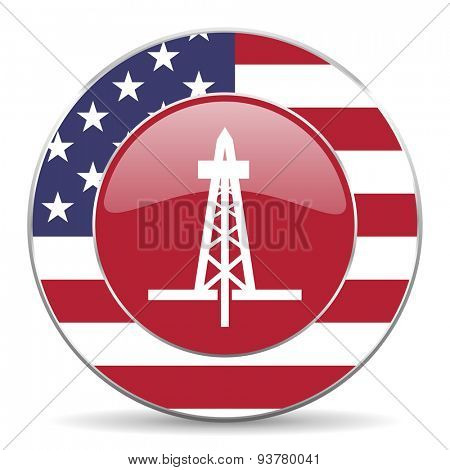 drilling american icon original modern design for web and mobile app on white background