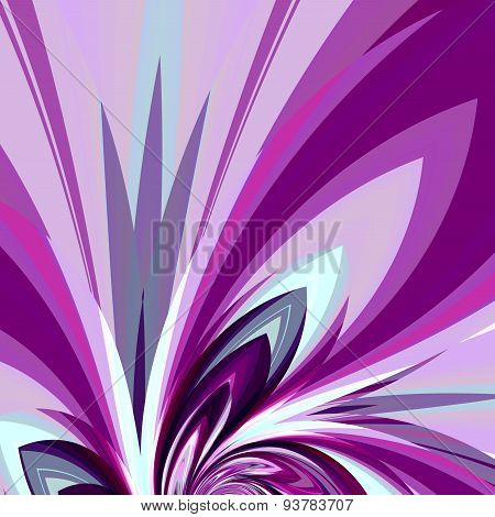 Art illustration design for invitation card. Abstract background. Digital fantasy element. Image.