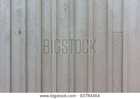 Wooden Siding Of Building