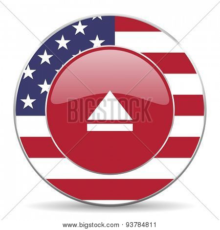 eject american icon original modern design for web and mobile app on white background