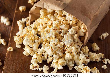 Homemade Kettle Corn Popcorn