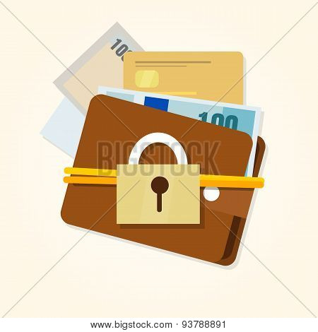 money protection security financial wallet secure