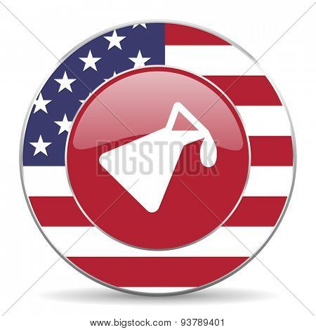 chemistry american icon original modern design for web and mobile app on white background