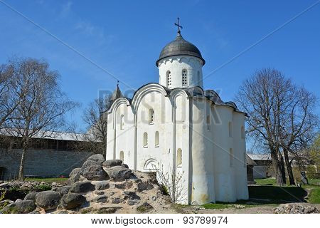 Staraya Ladoga. Russia. Ancient St. George's Cathedral