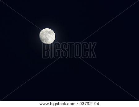 Full Moon In A Sky