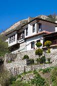 stock photo of stone house  - Traditional stone - JPG