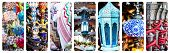 picture of shisha  - collage photos of beautiful goods bazaar - JPG