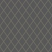 stock photo of diagonal lines  - Geometric fine abstract  pattern with golden diagonal dotted lines - JPG