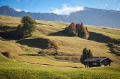 pic of south tyrol  - Seiser Alm and Rosengarten in South Tyrol - JPG
