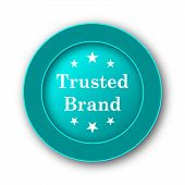 picture of trust  - Trusted brand icon - JPG