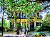 New Orleans home Architecture poster